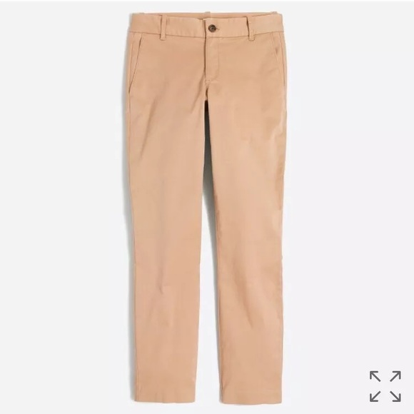 J. Crew Pants - 🆕🔥 J.Crew Frankie Chino Pant Ankle Camel 20